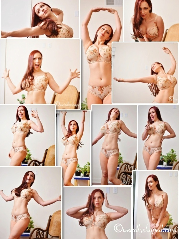 Ingrid Dancing Collage